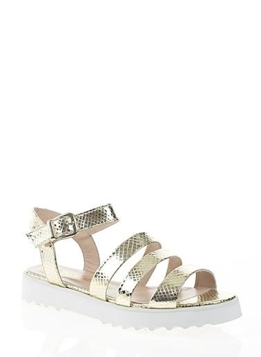 Nemesis Shoes Sandalet Altın